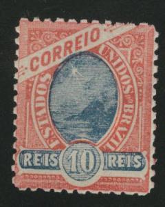 Brazil Scott 113 MH* 10 Reis stamp