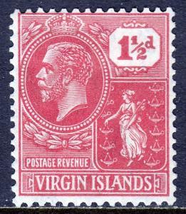 Virgin Islands - Scott #56 - MH - SCV $2.10