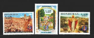Honduras. 2000. 1501-4 from the series. New saint 2000, religion. MNH.