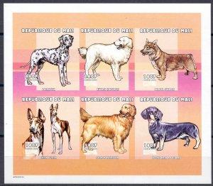 Mali. 2000. 2522B-27B. Dog fauna. MNH.