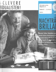 Schaubek Slovakia Hingless Supplement 2000