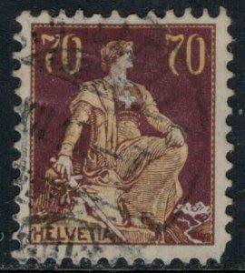 Switzerland #141  CV $17.00