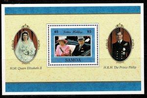 Samoa 1997 Golden Wedding MNH M/s
