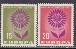 Germany  #897-98  MNH  (1964)  c.v. $0.40
