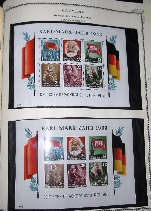 GERMANY COLLECTION 1868–1979, Scott Specialty album NH & hinged, Scott $11,783
