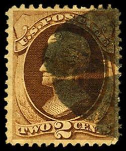 U.S. BANKNOTE ISSUES 157  Used (ID # 39780)
