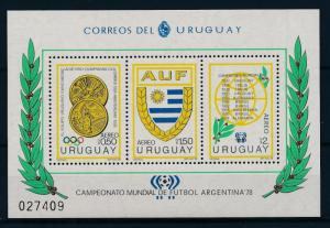 [55108] Uruguay 1978 Olympic games World Cup Football MNH Sheet