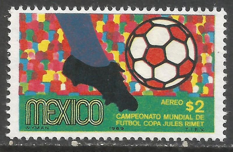 MEXICO C351 MNH WORLD CUP I359-1