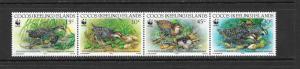 WWF- BIRDS - COCOS ISLANDS #262 (2)  MNH