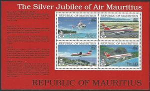 Mauritius #772a MNH Souvenir Sheet cv $11.50