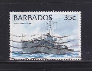 Barbados 876 U Ships (E)