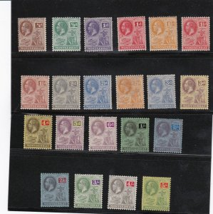Montserrat Stamp Sc#54-74 Mint Hinged Complete Set - $129 cv