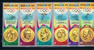 Equatorial Guinea Used Olympic Games 1972 (E0013)
