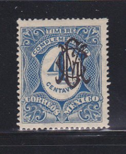 Mexico 468 MH Overprint