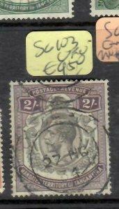 TANGANYIKA  (PP1306B)  KGV  2/-  SG 103 VFU