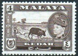 Kedah 1957 4c Ricefield MH