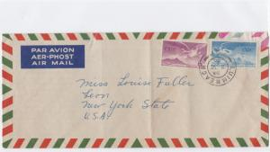 ireland 1950 large air mail stamps cover ref r15519