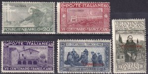 Tripolitania #20-24 Unused CV $13.00  (Z6865)