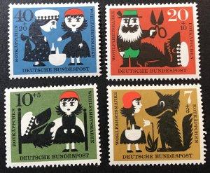Germany B372-5 MNH SCV $2.80 fairy tales