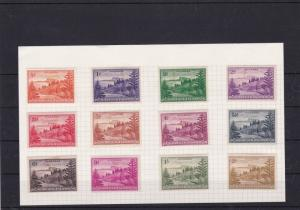[SOLD] norfolk islands mounted mint  stamps ref 13295