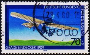 Germany. 1978 70pf+35pf  S.G.1859 Fine Used