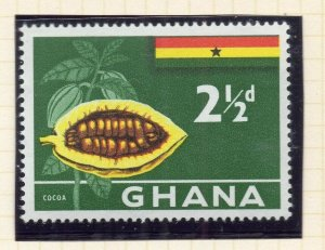 Ghana 1959 (5 Oct) Early Issue Fine Mint Hinged 2.5d. NW-99780