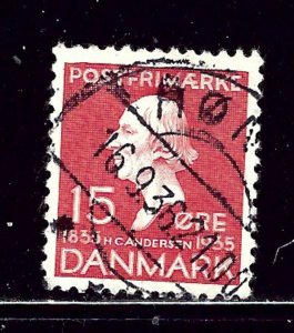Denmark 249 Used 1935 issue