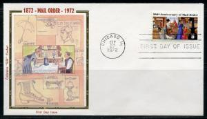 UNITED STATES 1972 MAIL ORDER COLORANO UNADDRESSED FIRST DAY COVER