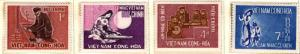 South Vietnam Scott 287-290 MH* stamp set