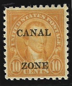 Canal Zone Scott #99 Mint 10c Perf 10 O/P 2019 CV $18.00