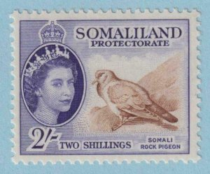 SOMALILAND PROTECTORATE 137  MINT HINGED OG * NO FAULTS EXTRA FINE !