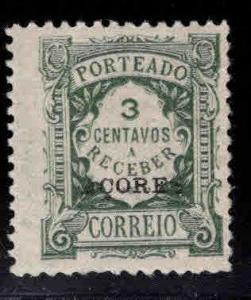 Azores Scott J33 MN*  overprint postage due stamp