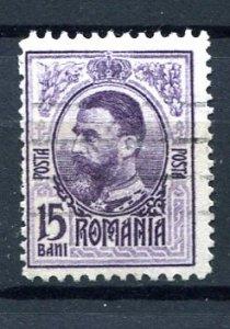 Romania 1908 15b Used OFFSET Mi 214 var 8204
