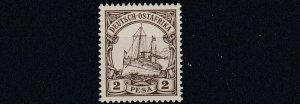 GERMAN EAST AFRICA  1901  S G 15  2P BROWN    MNH    NO2