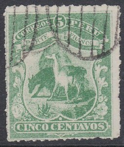 PERU  An old forgery of a classic stamp.....................................C948