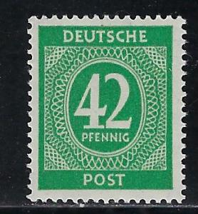 Germany AM Post Scott # 549, mint nh