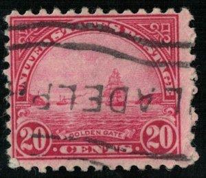 USA, Golden Gate, 20 cents (Т-6497)