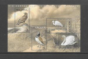 BIRDS - MOLDOVA #464a  MNH