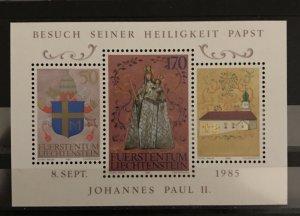 Liechtenstein 1985 #816, MNH, CV $3.25
