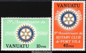 Vanuatu Scott 293a-294a Mint never hinged.