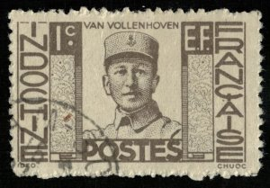 Indo-chine 1c, 1944 Governors - Inscription EF (3382-Т)