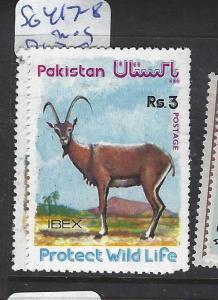 PAKISTAN (P2710B) ANIMALS SG 417-8  MOG
