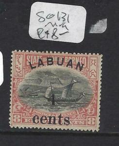 LABUAN (P1303B)  4C/8C  BOAT   SG 131   MNG