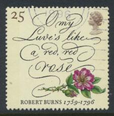 Great Britain SG 1902  Used  - Robert Burns