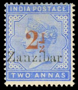 Zanzibar Scott 31b Gibbons 27m Mint Stamp