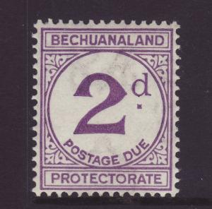 1932 Bechuanaland 2d Postage Due Ord Paper Mint