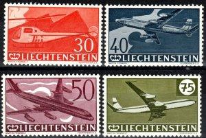 Liechtenstein #C34-7 F-VF Unused CV $17.50 (X7012)