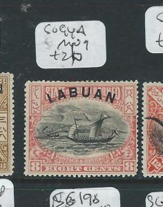LABUAN (P2307B) 8C BOAT SG94A   MOG