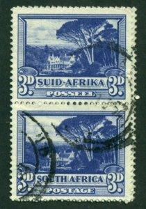South Africa 1940 #57 U Pair SCV(2020) = $2.75