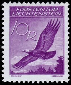 Liechtenstein Scott C9 (1935) Mint H VF, CV $10.50 B